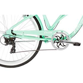 Electra Cruiser Lux 7D Noir Femme, sea green metallic